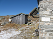 WC neben der Hütte