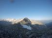 Blick vom Ali-Lanti Biwak nach Westen, Bildmitte Kleinelendscharte, rechts Kötschachtal