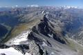 Ausblick am Gipfel des Ankogel